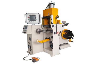 China CNC Small Size Transformer Foil Winding Machine With Copper And Aluminium Strip supplier