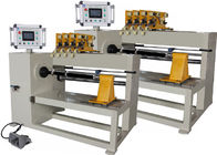 PLC Automatic Coil Winding Machine , Handling Four Copper Or Aluminium Wires