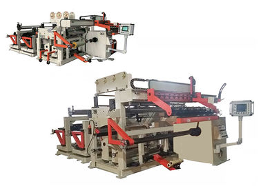 China PLC Control LV Transformer Foil Winding Machine 15kw Motor Driving TIG Welding factory