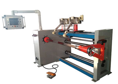 Transformer Round / Flat Wire Coil Winding Machine With Servo Motor High Speed