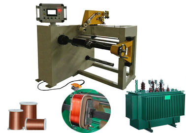Automatic Copper Or Aluminium Wire Coil Winding Machine For Oil Transformer
