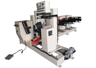 China Simple Reactor Foil Winding Machine With Three Layers Of 600mm Width Strip factory