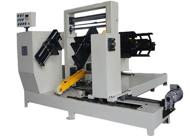 China Affordable Simple Two Layers Foil Winding Machine For Reactor 450mm Height Coil factory