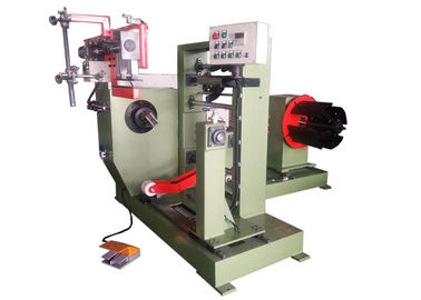 China Single Layer Simple Foil Winding Machine With Copper Strip For Dry Transformer factory
