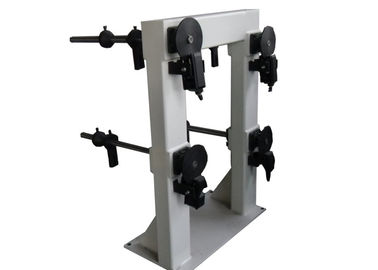 Four Axial Coil Stand For Placing Flat Wire Reel With Pneumatic Tension