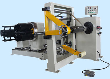 Semi Automatic Transformer Coil Winding Machine Simple Coil Winder For Dry Transformer