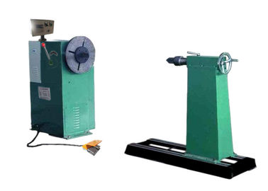 Oil Transformer Semi Automatic Coil Winding Machine With 5.5kw Motor Driven