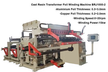 Programmable Dry Type Transformer Winder Machine Foil Width 1000mm 0.8m / Min Speed