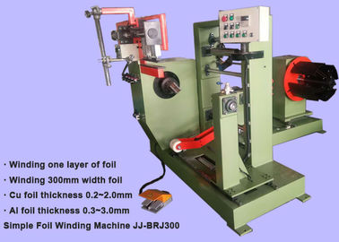 Customized Copper Strip Winder Simple Automatic Transformer Winding Machine